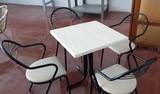 MESA RESTAURANTE + 4 SILLAS CAFETERIA