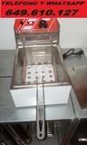 6L. FREIDORA INOX NEW