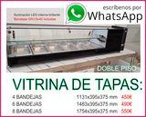 VITRINA DE TAPAS REFRIGERADA
