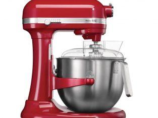 Mezcladora amasadora de uso intensivo KitchenAid roja
