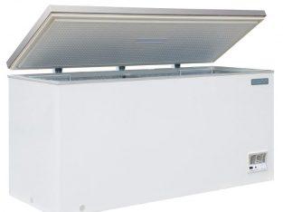 Arcón congelador con tapa de acero inoxidable 516L. Polar