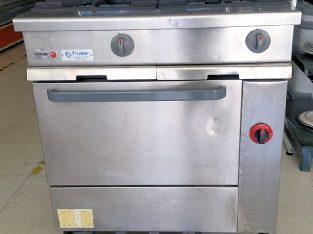 cocina 2 fuegos fagor cc-210-sg/g con horno