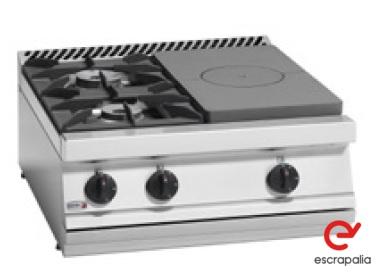 Cocinas a gas o eléctricas