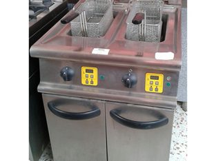 Freidora eléctrica de 2 senos 10+10L 800x900x870