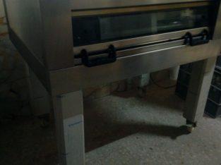 Horno eléctrico de 2 bandejas