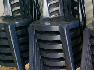 Lote mesas y sillas