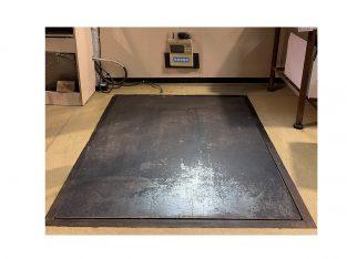 Báscula de suelo con visor 125 X 150