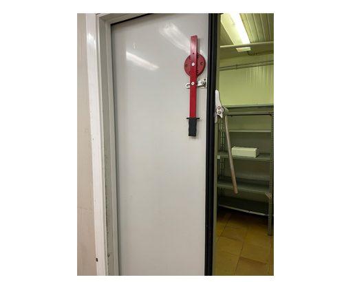 Puerta corredera de Cámara Frigorífica 160 X 230 X 12. Marca: KOXKA