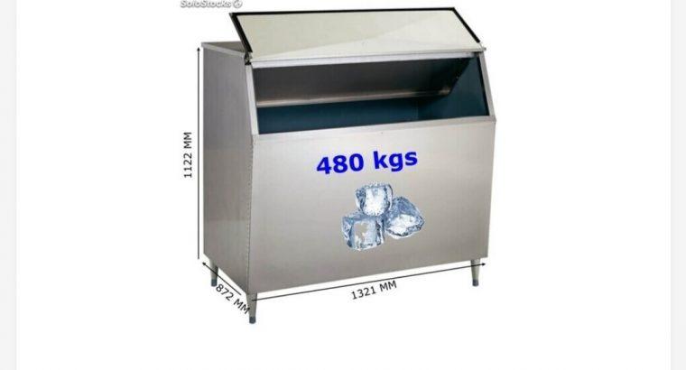 fabricador de hielo con deposito 400 kg